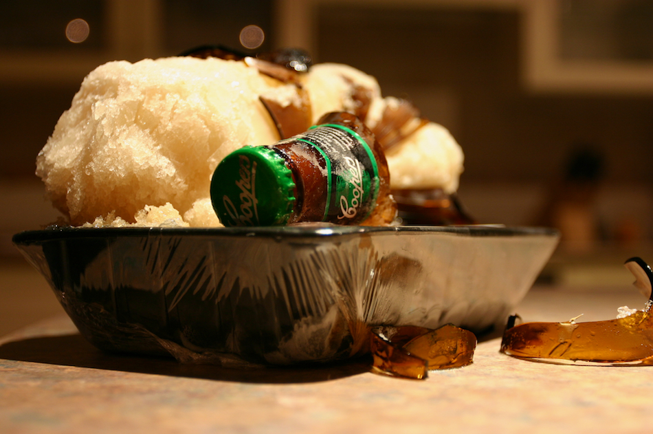 Beer Plus Freezer Equals [ EF 17-40mm 1:4 L ]