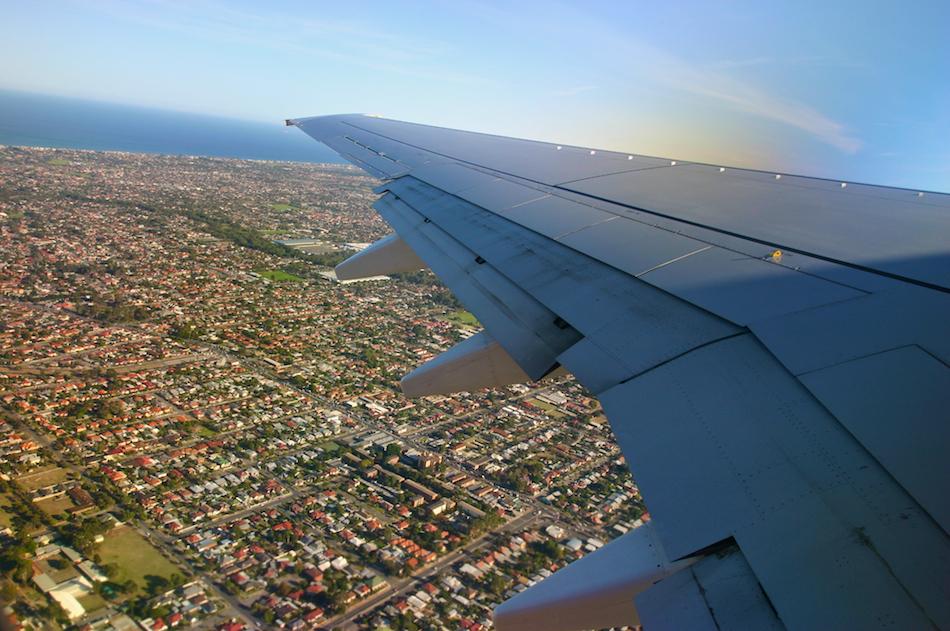 Wing Over Adelaide [ EF 17-40mm 1:4 L ]