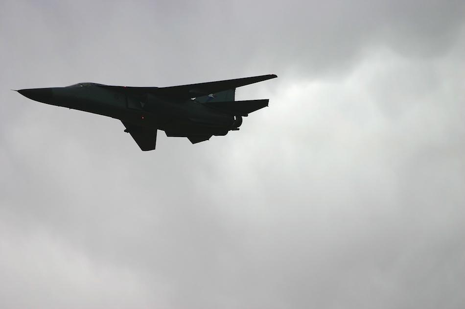 F-111 Silhouette [ EF 70-200mm 1:4 L ]
