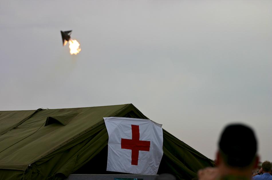 Red Cross [ EF 70-200mm 1:4 L ]