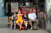 Kylie, Some Clown, Helen & Jarrod [ EF 28mm 1.8 ]