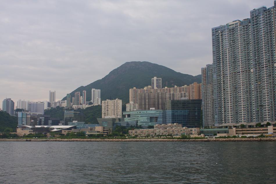 Hong Kong Island Buildings [ EF 28mm 1.8 ]