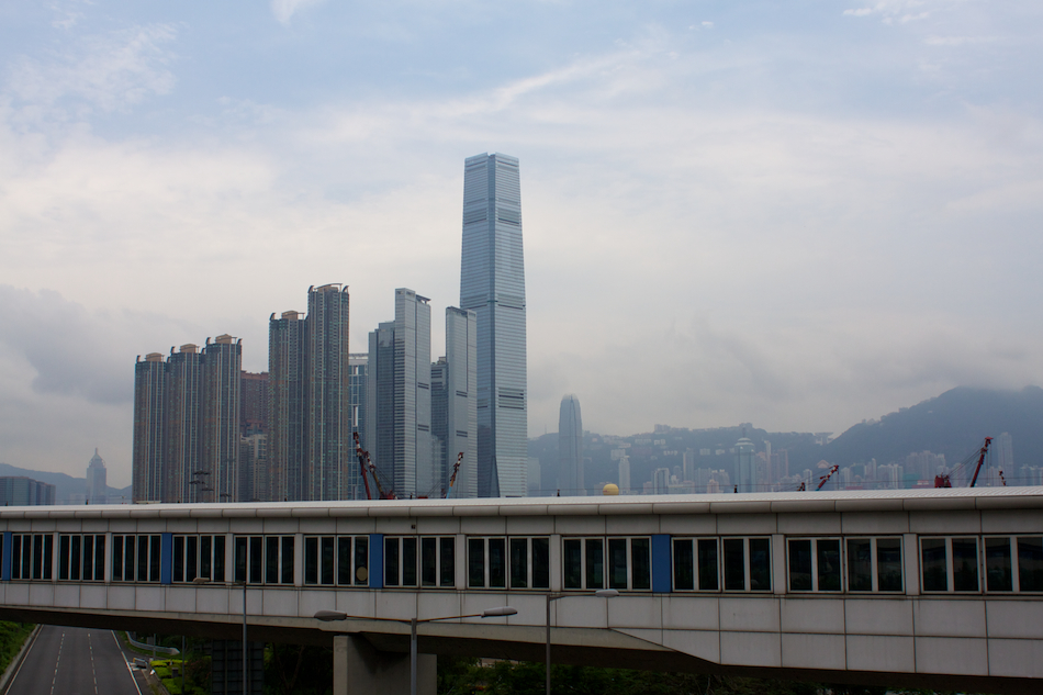International Commerce Centre [ EF 28mm 1.8 ]