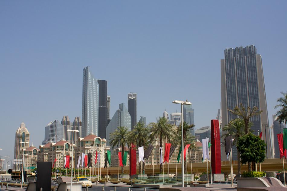 Dubai Skyline [ EF 28mm 1.8 ]