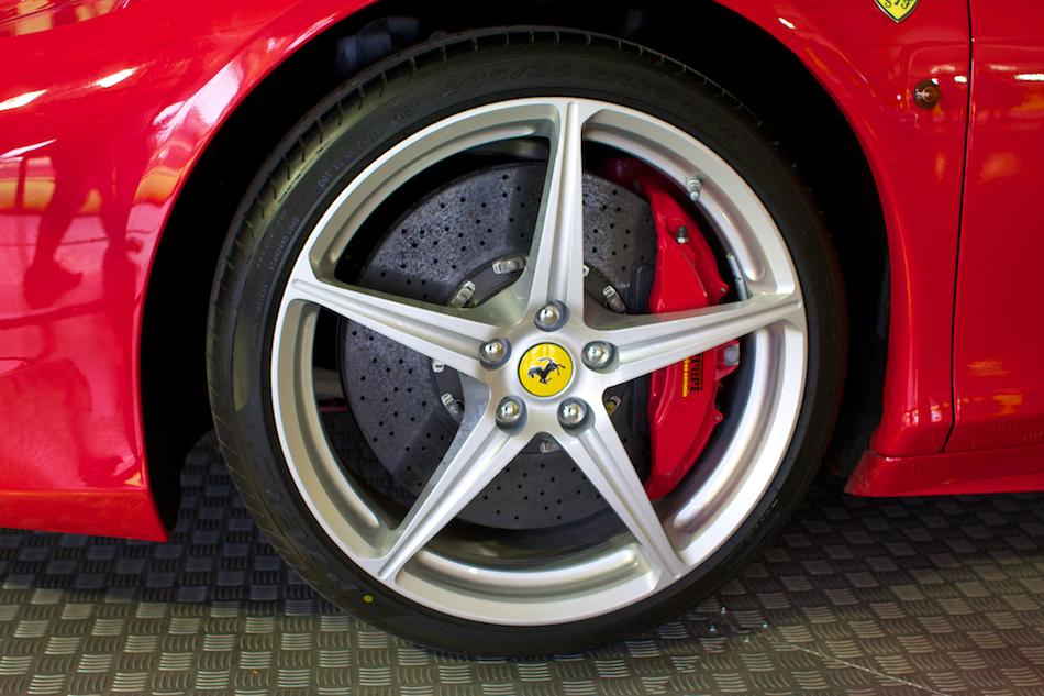 Astigmatism Ferrari 458 Wheel