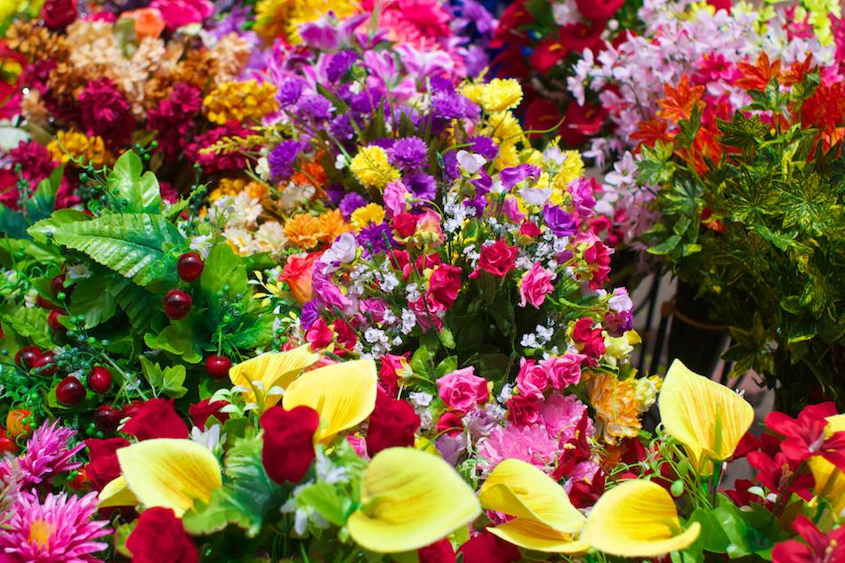 Market Flowers [ EF 28mm 1.8 ]