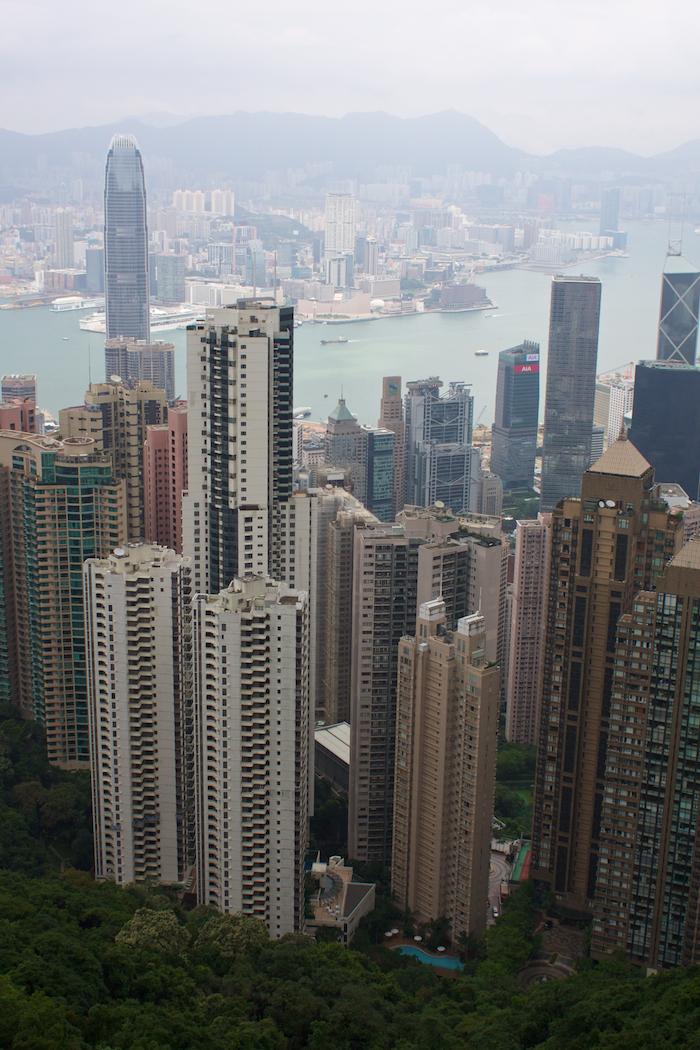 Peak Tower View [ EF 28mm 1.8 ]
