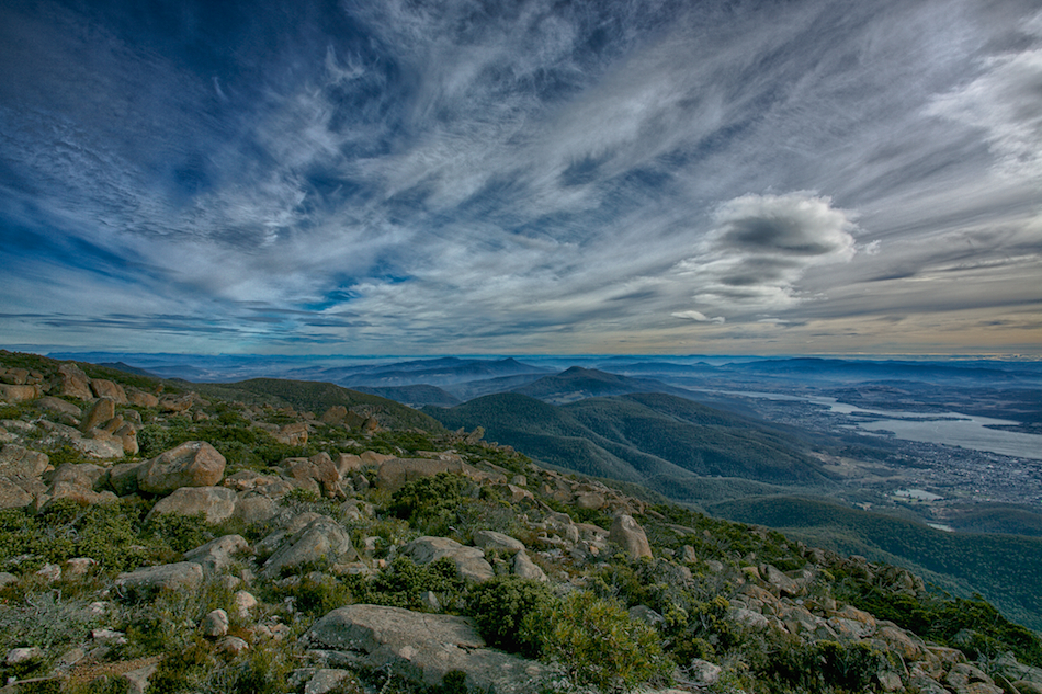 Mt Wellington View [ EF 17-40mm 1:4 L ]