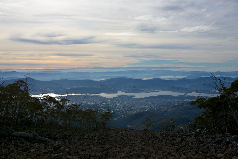 Hobart from Pinnacle Road [ EF 17-40mm 1:4 L ]