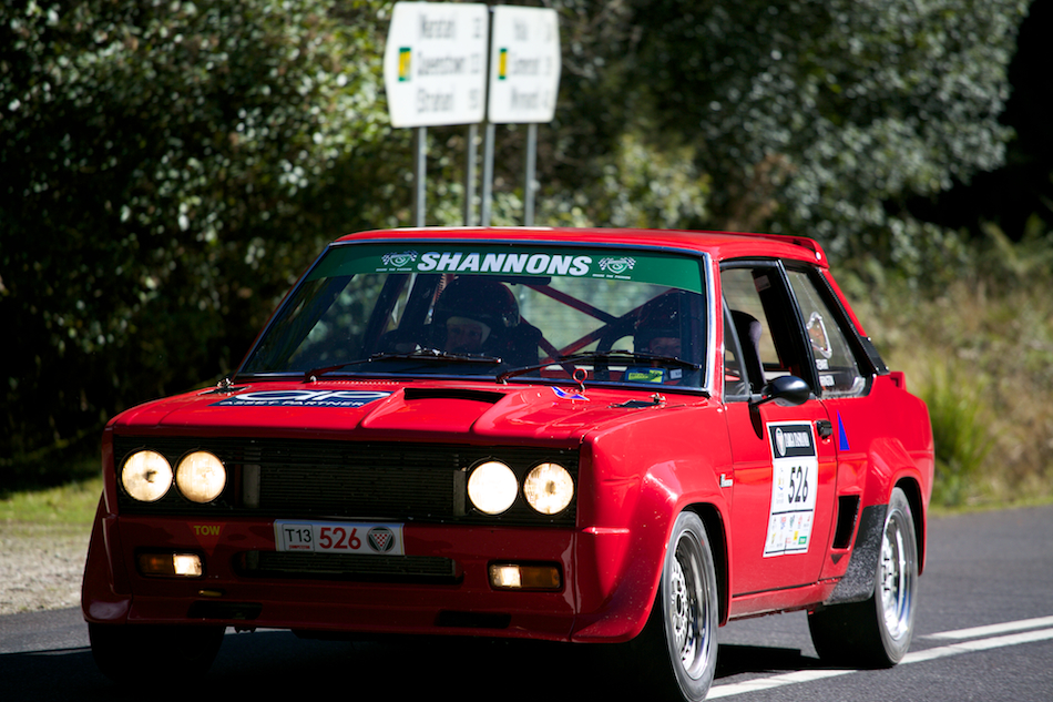 1976 Fiat 131 Rallye [ EF 70-200mm 1:4 L ]