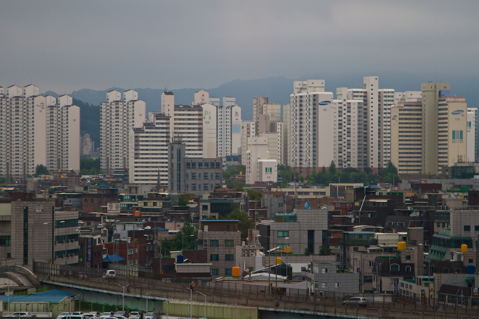 Seoul Buildings [ EF 24 - 105mm 1:4 L IS ]