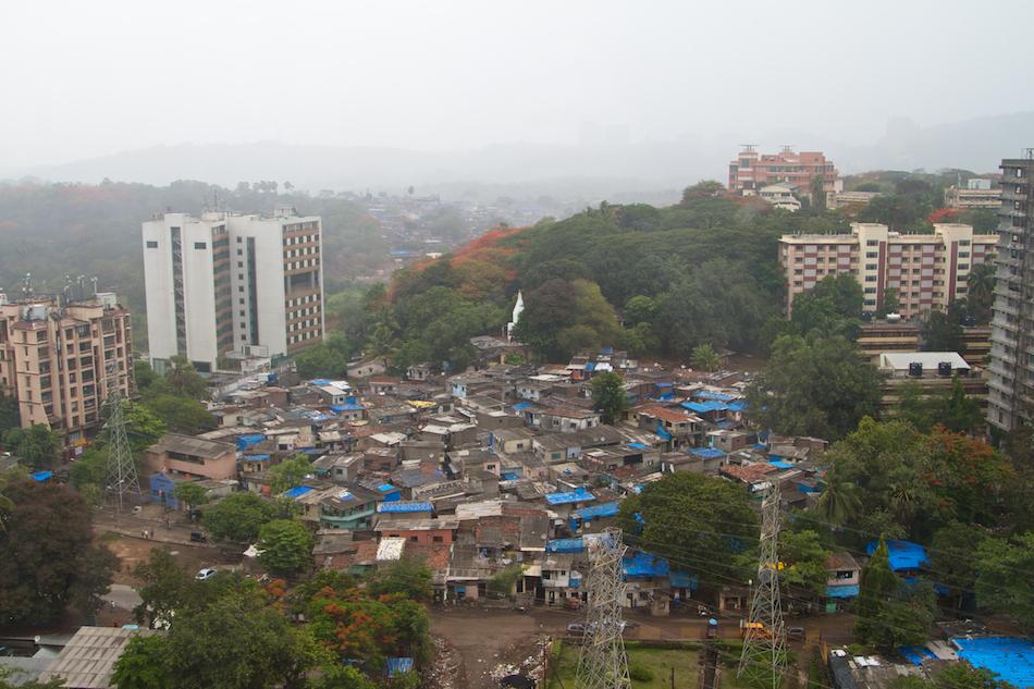 Slums in Monsoon [ EF 24 - 105mm 1:4 L IS ]