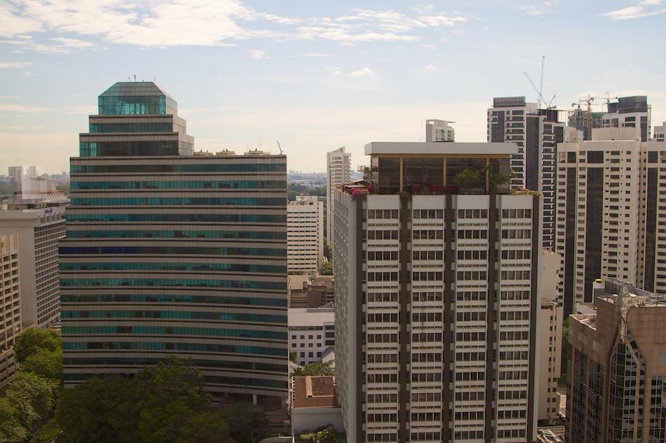 Singapore Buildings [ EF 24 - 105mm 1:4 L IS ]
