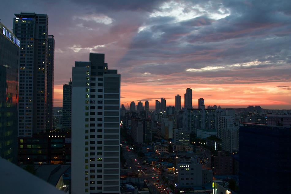 Sunset Seoul [ EF 24 - 105mm 1:4 L IS ]