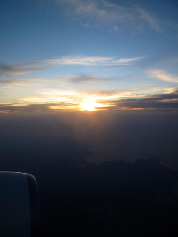 Sunset, Indonesia