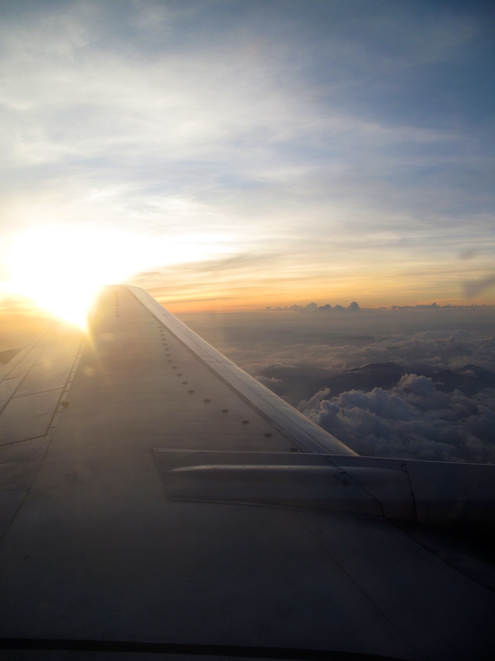 Sunset on Wing