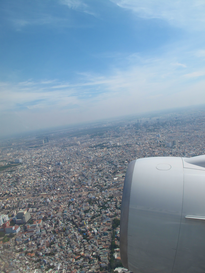 Ho Chi Minh City from the Air