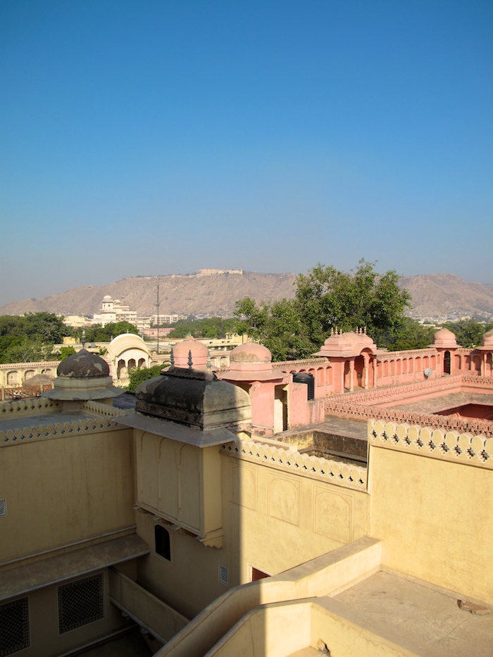 View to Nahargarh Fort
