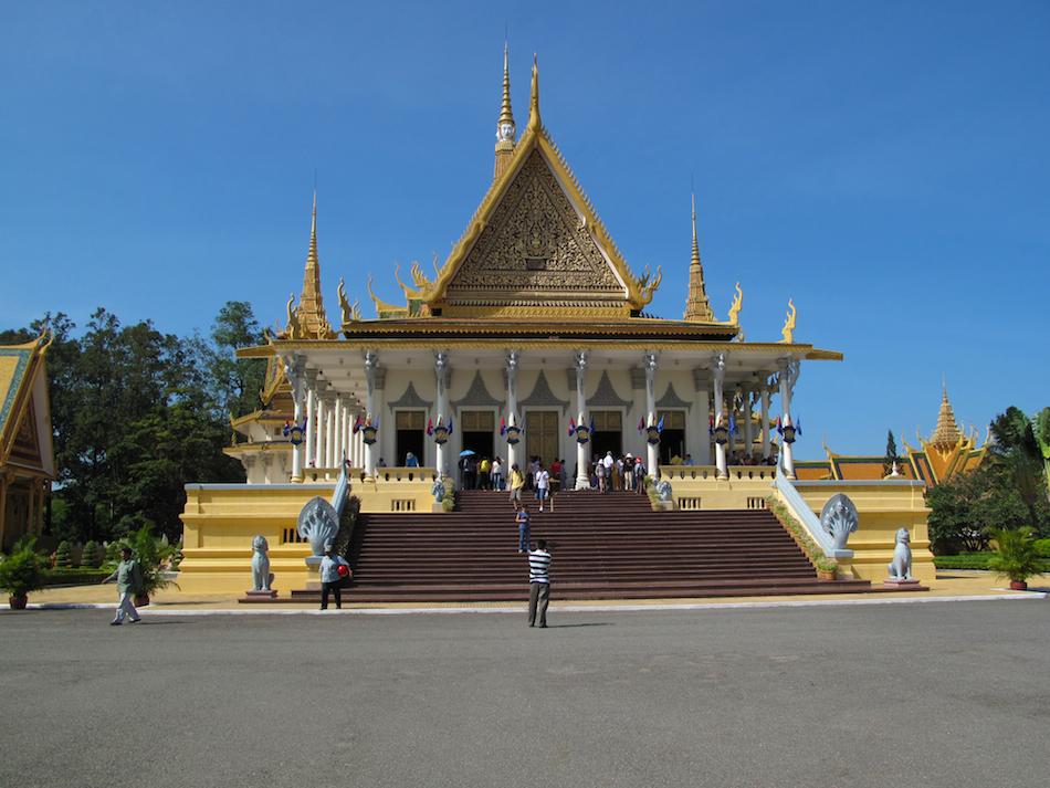 Preah Timeang Tevea Vinicchay (Throne Hall)