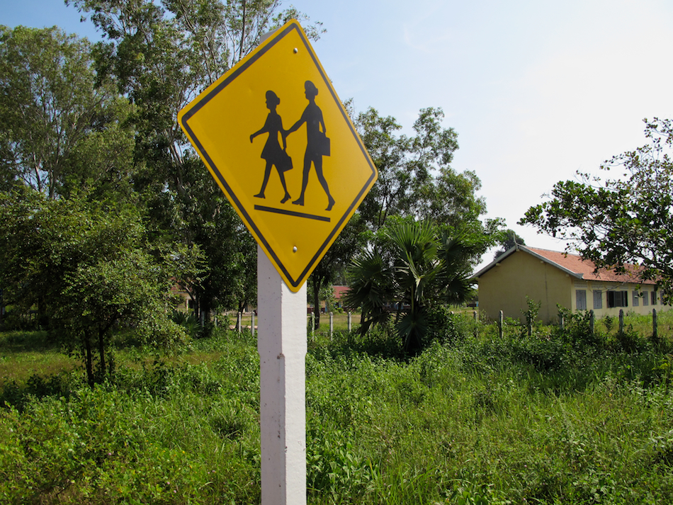 Cambodian Road Signs
