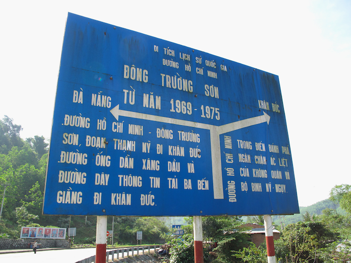 Ho Chi Minh Highway Sign