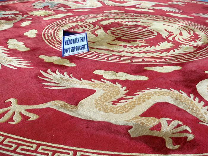 Don't Step on Carpet