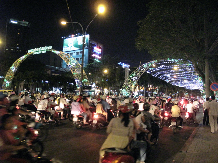 Christmas Eve, Ho Chi Minh City