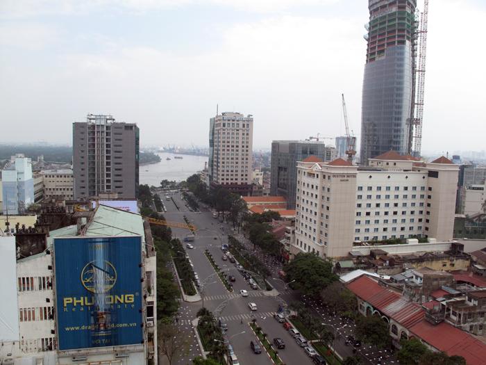 Views from Palace Hotel Saigon