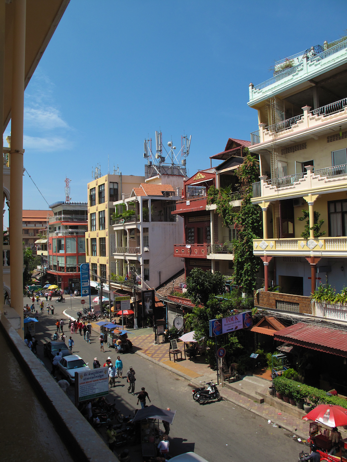 View from FCC Phnom Penh