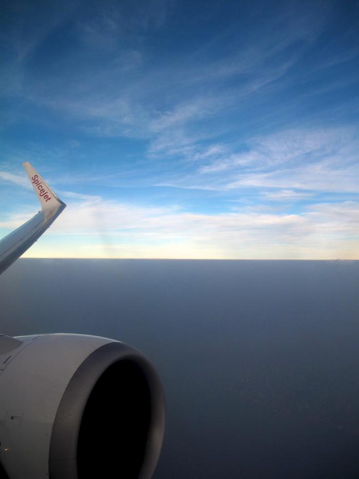 SpiceJet over Mumbai