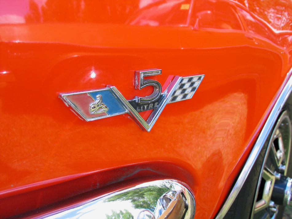 Muscle Car Badges