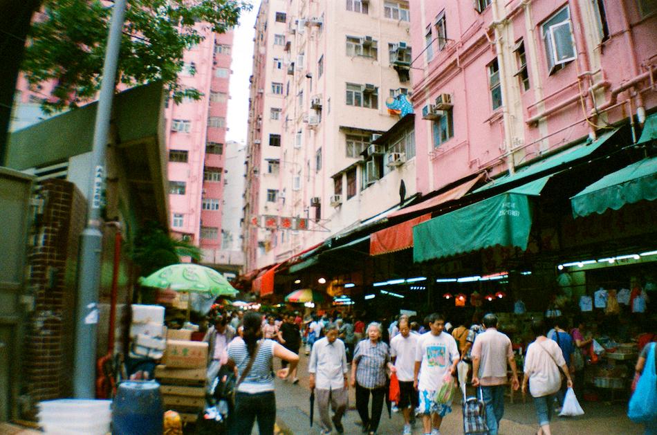 Mong Kok Street Market
