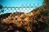 Quarry Through Fence