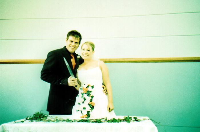 Ryan and Jayne and Cake