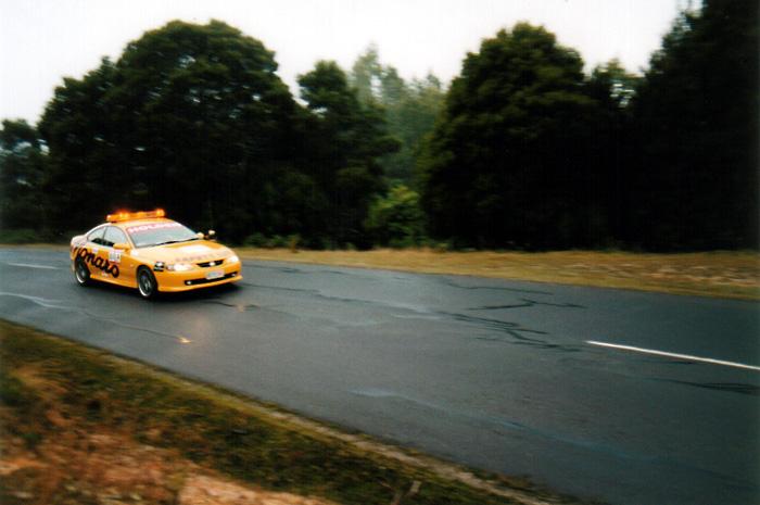Monaro Safety Car